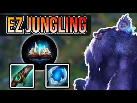 How to Counter Jungle as Nunu 🍆 - Nunu Jungle Commentary Guide - League of Legends Season 8