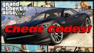 GTA 5 In Game Cheat Codes! How To Use Cheat Codes Without