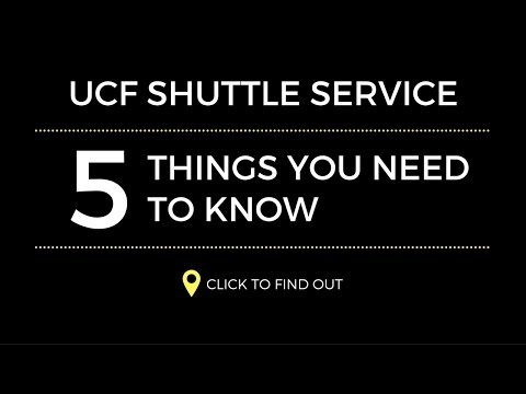 Video: 5 Things You Need to Know About the UCF Shuttle