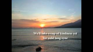 Auld Lang Syne Lyrics Piano And Voice With Strings