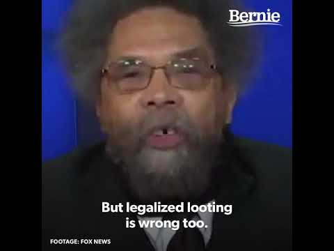 Cornel West |  Explains the Protests
