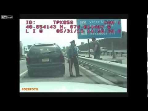 State trooper confronts officers during traffic stop