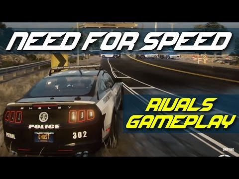 Need For Speed Rivals gameplay exclusive online