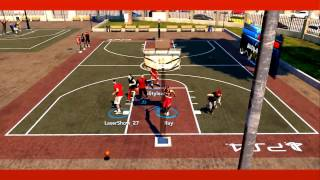 PS4 NBA 2K14 The Park Montage! Craziest Alley-Oops And