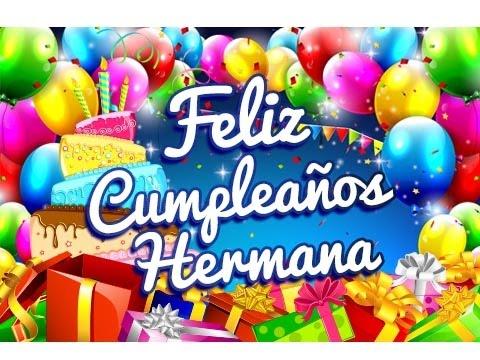 Feliz Cumpleaños Hermana – Felicitaciones para un Cumpleaños Gratis | Etiquetate.net
