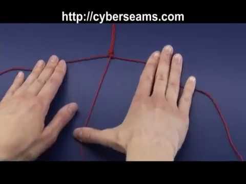 How to Make a  Granny Knot - Macrame Basics
