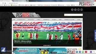 PES 2014: Instalación De Kits En Formato DDS