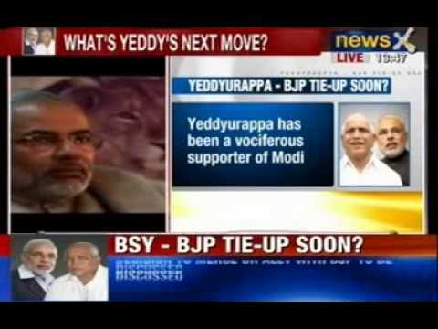 News X: Yeddyurappa intensifies efforts to return to BJP