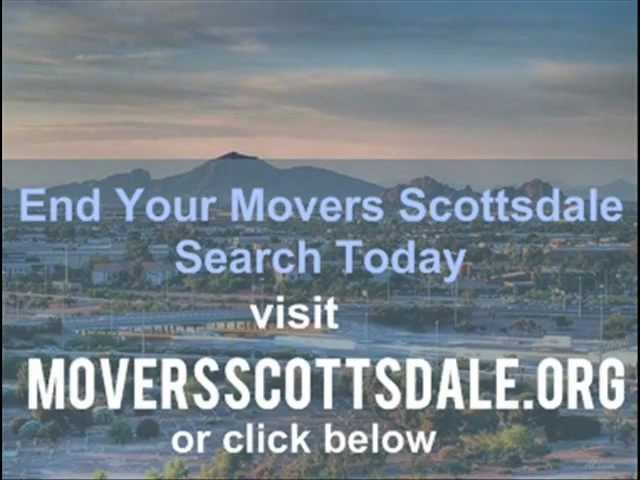 Movers Scottsdale - Make Your Move and Enjoy it Too!