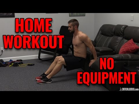 Home Workout Without Equipment For Men
