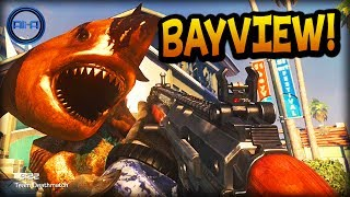 "Call of Duty: Ghost ""BAYVIEW"" Gameplay! - NEW Multiplayer Map! - (COD Ghosts Onslaught DLC)"