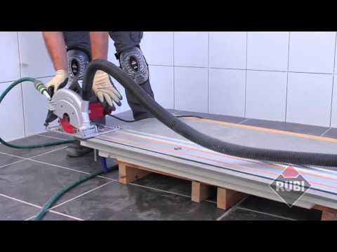 Máy cắt gạch cắt đá cầm tay Rubi TC 180