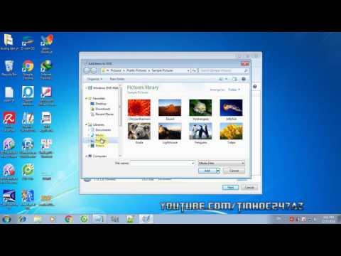 Hướng dẫn làm video từ hình ảnh và âm thanh dùng Windows DVD Maker