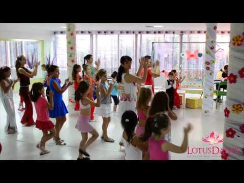 Lotus Dance. Cursuri de dans pentru copii.