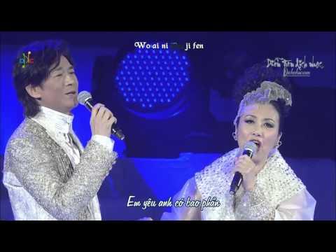 [Vietsub + Kara] Ánh Trăng Nói Hộ Lòng Tôi - Trịnh Thiếu Thu & Uông Minh Thuyên