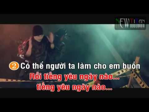 Karaoke Xin Anh Đừng   xin anh dung   Justatee; Lil Knight; Emily   NewTitan    Karaoke Online