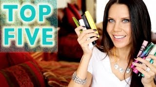 TOP FIVE FAVORITES | Best Performing Mascaras