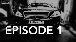 Замена рычагов и резины на мерседес W221 Mercedes benz S320 Денис Рем Дестакар