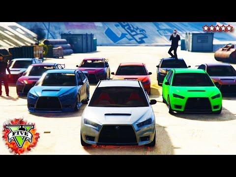 GTA 5 PC: NEW PC Custom RACE OPEN LOBBY!!! - CRAZY FAST RACES & STUNTS (GTA 5 PC Funny Moments)