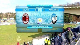 Primavera, Milan-Atalanta 1-1: gli highlights