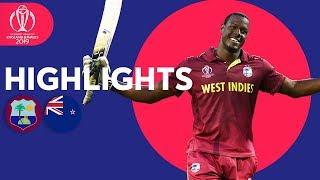 Amazing Brathwaite 100! | West Indies v New Zealand - Match Highlights | ICC Cricket World Cup 2019