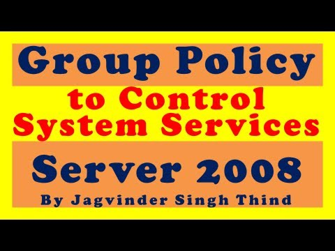 Group policy 13 Controlling System Services using GPO in Hindi