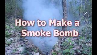 How To Make The BEST Smoke Bomb!