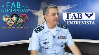 Em entrevista, o Major-Brigadeiro do Ar Mário Luís da Silva Jordão, Comandante do Comando de Defesa Aeroespacial Brasileiro (COMDABRA), fala sobre a intensificação do trabalho da FAB no controle do espaço aéreo e na defesa aérea durante os Jogos Olímpicos no Rio de Janeiro.