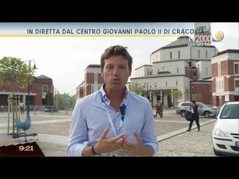 In diretta dal Centro Giovanni Paolo II di Cracovia