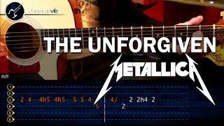 Como tocar The Unforgiven - METALLICA - en guitarra acustica (HD) Tutorial
