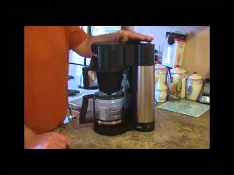 Bonavita Coffee Maker Vs Bunn : Bunn Tim Hortons Coffee Maker - YouTube