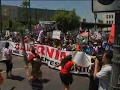 Thousands March In California On May Day