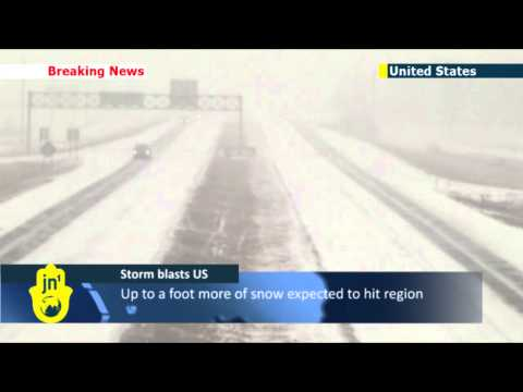 US storm leaves two dead and state of emergency in Kansas