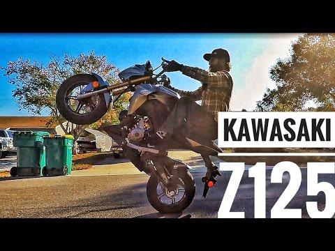 Kawasaki Z125 First Mod (& WHEELIES!!!)