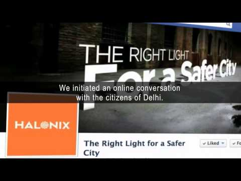 Halonix Safer City Project New Delhi - For Safety Of Women