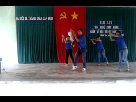Múa dân vũ 6 bước rửa tay vui nhộn - thành đoàn Cam Ranh