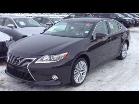 2014 Lexus ES 350 in Red Fire Agate Pearl Technology Package Review