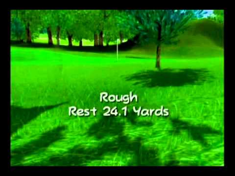 Mario Golf Toadstool Tour 2 Player Ring Attack - Lakitu Valley