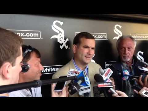 White Sox GM Hahn on signing draft pick Carlos Rodon