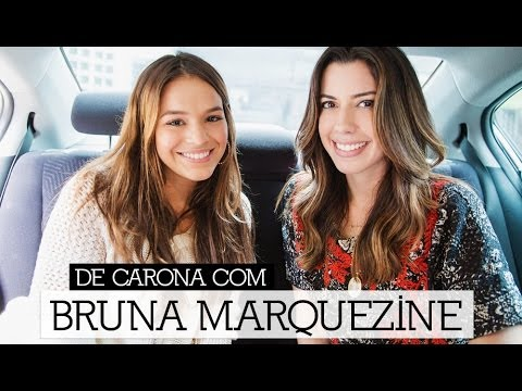 De carona com Bruna Marquezine / Entrevista por Camila Coutinho