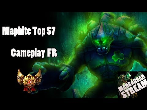 Malphite S7 Top - Gold 2 - Gameplay FR - League of Legends