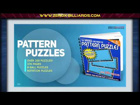 'The Original Big Book of Pattern Puzzles' - 8-Ball 9-Ball Patterns!