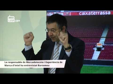 Josep Maria Bartomeu participa en un acte d'Intel (Mobile World Congress) | www.latdp.cat