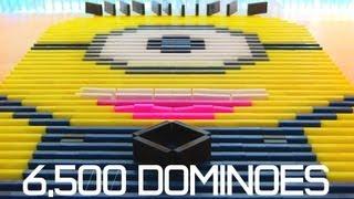 6,500 Dominoes - Despicable Me Minion?!