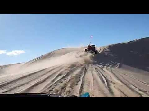 Sand Rail Roll Over Glamis 2013