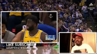 Stephen Curry 51 points in 3 qts reaction