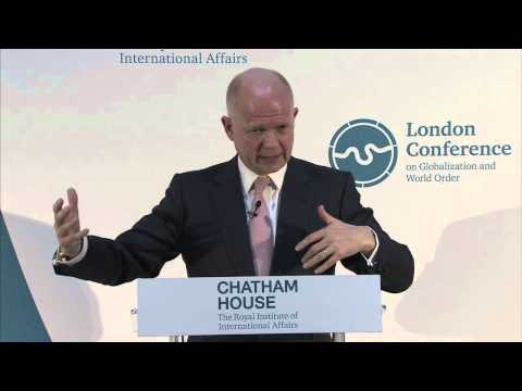 The London Conference - Rt Hon William Hague