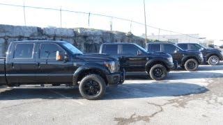 TUSCANY FORD TRUCK DEALER BLACK OPS FTX F-150 F-250 AT