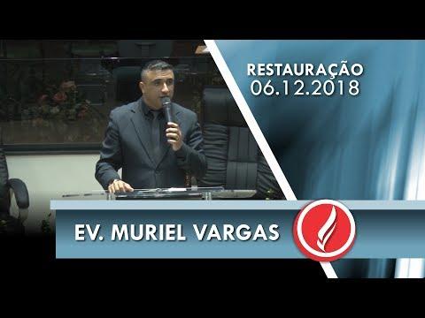 Noite da Restauração - Ev. Muriel Vargas - 06 12 2018