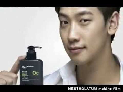 [Rain (Bi) Making ]110430 Rain Mentholatum for Men_Making Film_2:06 min